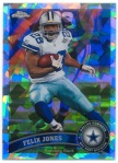 2011 Topps Chrome Felix Jones Crystal Atomic Refractor