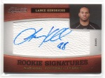 2011 Timeless Treasures Lance Kendricks Autograph