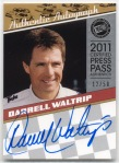2011 Legends Darrell Waltrip Autograph