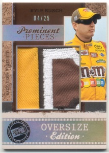 2011 Legends Kyle Busch Prominent Pieces Oversize