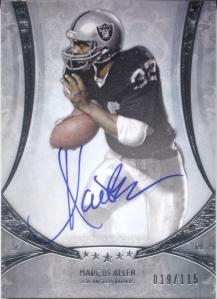Marcus Allen Autograph